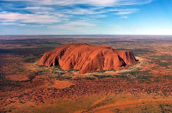 uluru roca australia
