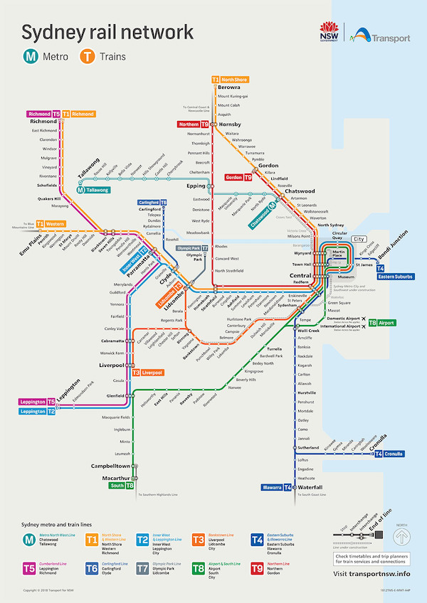 transporte público sydney